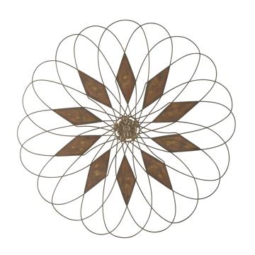 Picture of Dorielle Wire Flower Art