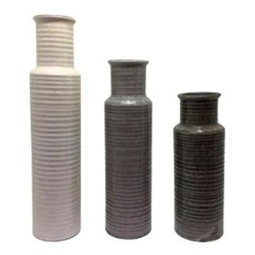 Picture of Deus Ceramic Set Of 3 Vases