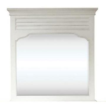 Picture of Myra Landscape Mirror in White