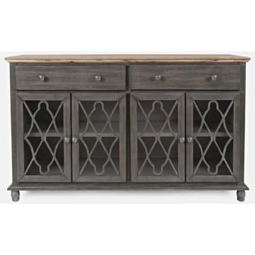 Picture of Aurora Hill 4 Door Gray Cabinet