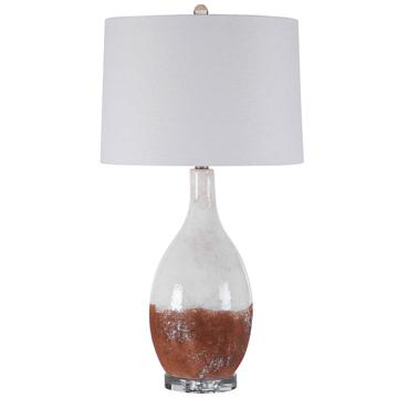 Picture of DURANGO TERRACOTA/CREAM TABLE LAMP